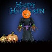 Inflatable Pumpkin Ghost Halloween Skeleton Costume Party Cosplay Skeleton Costume Men Human Skull Sale Costume With