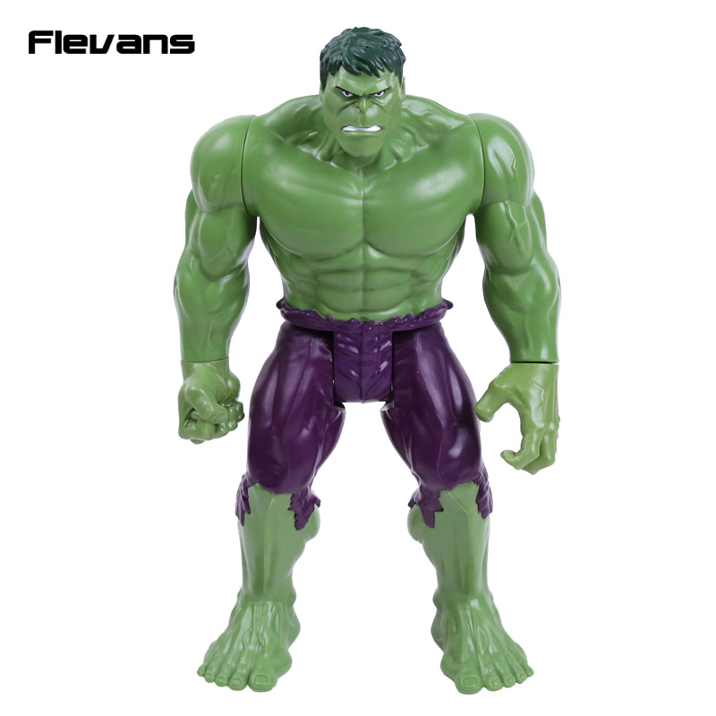 Titan Hero Series Marvel Avengers Assemble Hulk PVC Action Figure Collectible Model Toy 12 30cm 2015 new free shipping marvel super hero x men wolverine pvc action figure collectible toy 1231cm with box