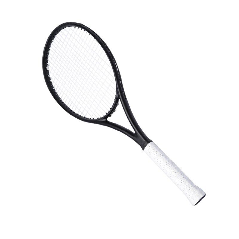 PD Li Na Black Tennis Racket  Foamed handle Hand glue 100% Carbon Fibre Material Frame Rafael