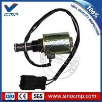 20Y-60-11713 20Y-60-22121  Excavator Swing Solenoid Valve for Komatsu PC200-6 6D95