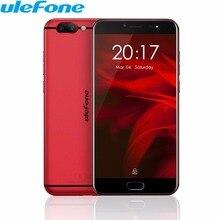 Ulefone Близнецы Pro Dual сзади камеры мобильного телефона 5.5 дюймов MTK6797 Дека core android 7.1 4 ГБ + 64 ГБ 13MP отпечатков пальцев 4 г телефона