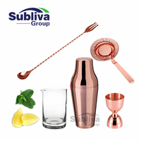 5pcs 600ML Cocktail Set Bartender Kit Stainless Steel Cocktail Shaker Mixer Drink Wine Tools Bar Accessories