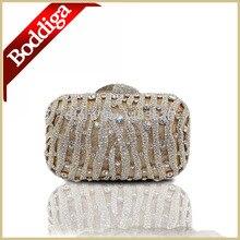 Farbe Gold Mode Diamant Frauen kristall kupplung abendtaschen Freies Verschiffen Luxus Fest Shell Damen Abendtasche 010