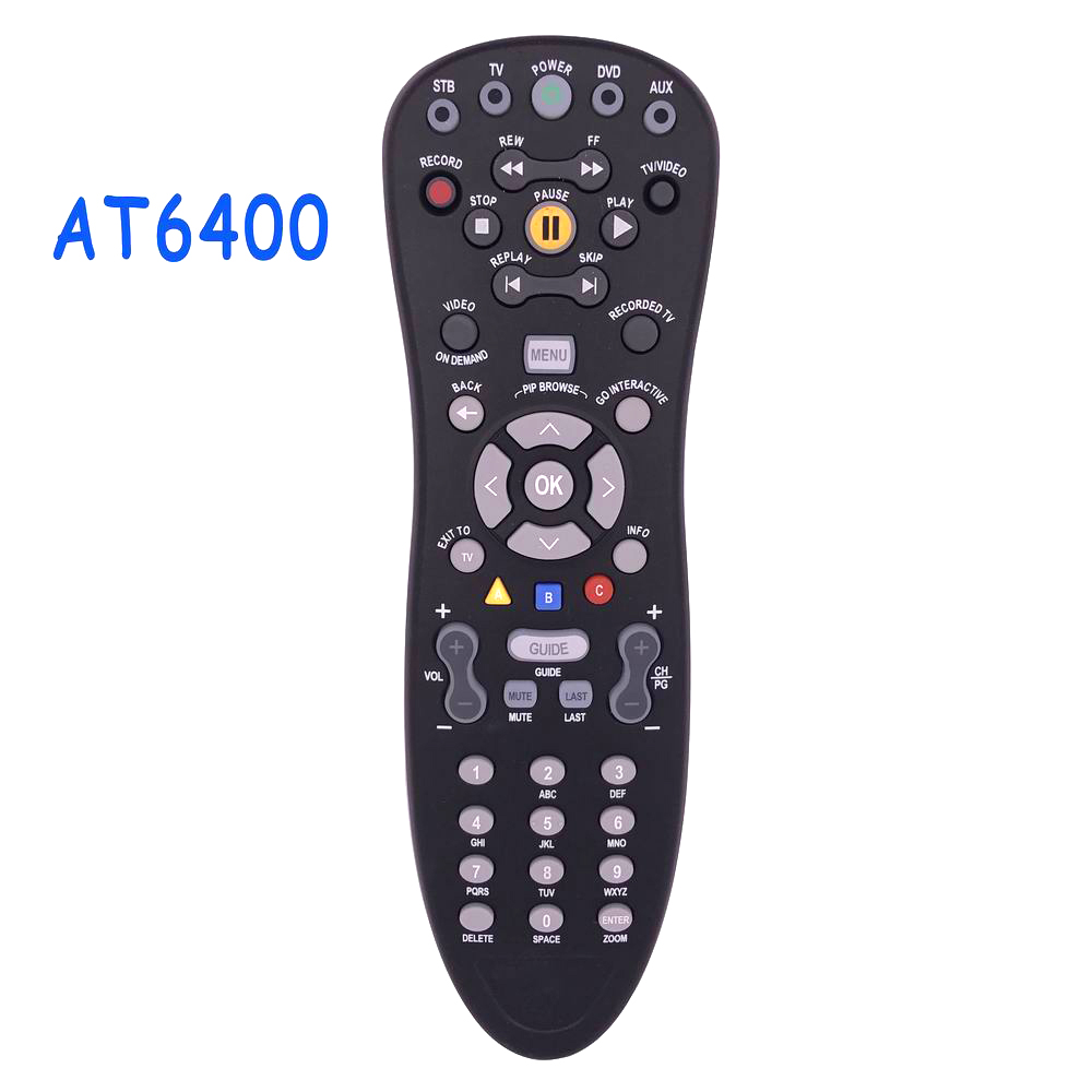 New Original AT6400 AllTouch IR Universal Remote Control Infrared With User Guide For CISCO Movistar RC1534860/01B 313922812491 кальсоны user кальсоны