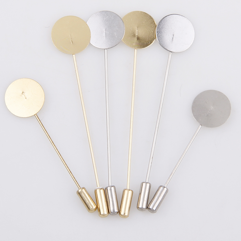 Factory Luxury Gold & Silver Plated Simulated Pearl Alloy Copper Long Brooch Pin DIY Lapel Dress Jewelry Brooches AccessoriesFactory Luxury Gold & Silver Plated Simulated Pearl Alloy Copper Long Brooch Pin DIY Lapel Dress Jewelry Brooches Accessories