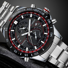 New Curren Luxury hours Men Quartz Watch Man Full Steel Watch Fashion Casual Date Watch Sports Military Wristwatches Waterproof