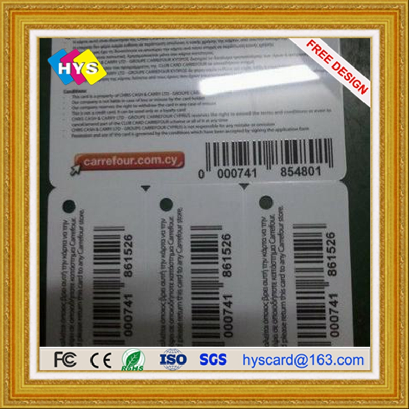Small Combined Key Tag Barcode Card, Precut Key Card ,3in1 Combo Card And 3up Key Card Supply !