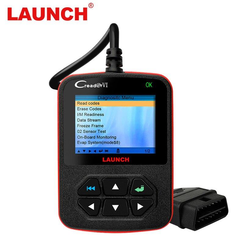 Оригинальный X431 Старт Creader VI OBD OBD2 Automotivo сканер автомобиля диагностический инструмент код ошибки чтения и стирать OBD2 автомобиля