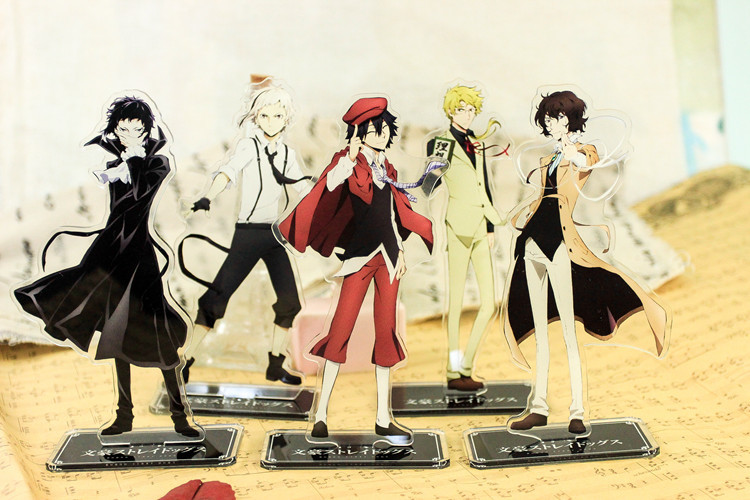 Anime Stray Dogs Acrylic Stand Model Toys Action Figure Accessory Pendant collection toy 18cm double-side gift
