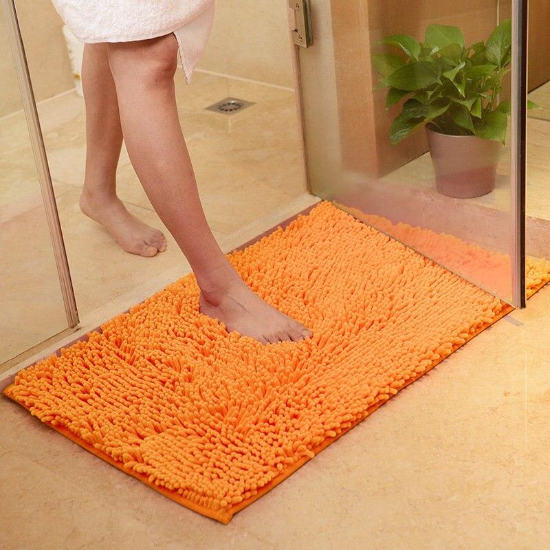 คุณภาพสูงห้องน้ำพรมกันลื่นพรมกลางแจ้งห้องนั่งเล่นพรมพรมและเสื่อ Chenille ห้องน้ำห้องน้ำประตู