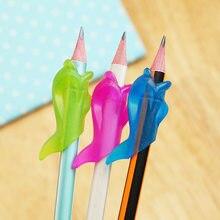 3 шт., силиконовые карандаши в виде дельфина