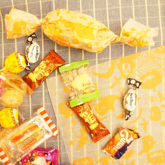 22*25cm halloween pumpkin 50pcs Good Material wrapping Cake Cookies Bread Christmas Packaging Butter Slab Wax Baking Paper image