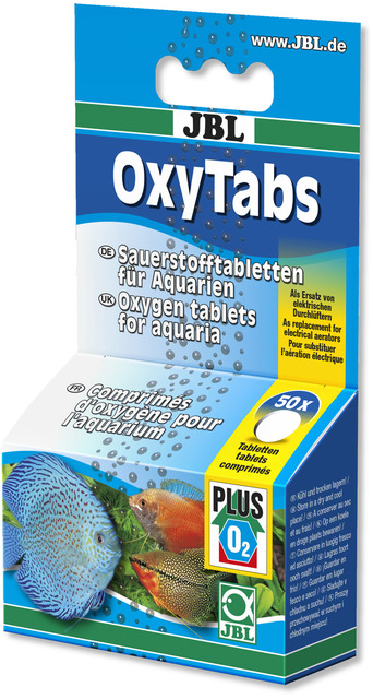 jbl oxygen tablets fish transport power cut emergency treatment aquarium fish tank