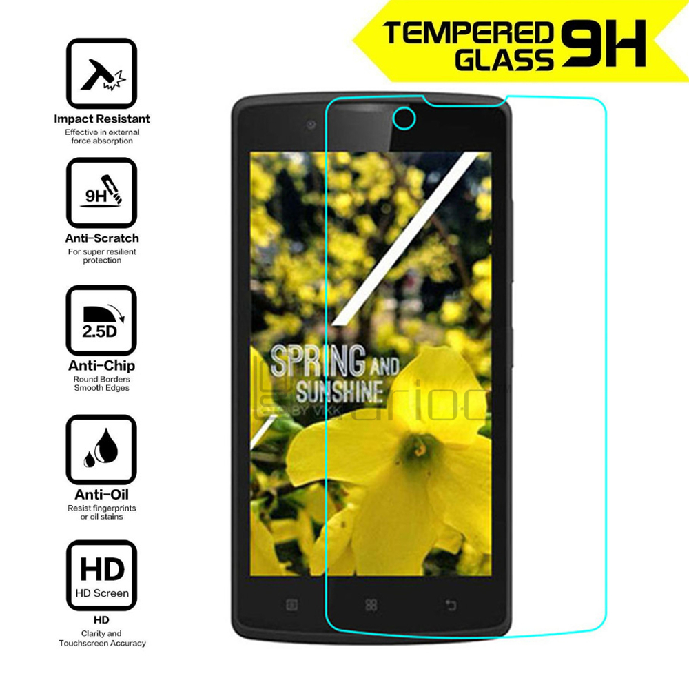 100% Original 9H 0.26mm High Clear Explosion-proof Front LCD Tempered Glass For Lenovo A2010 A 2010 Screen Protector Glass Film