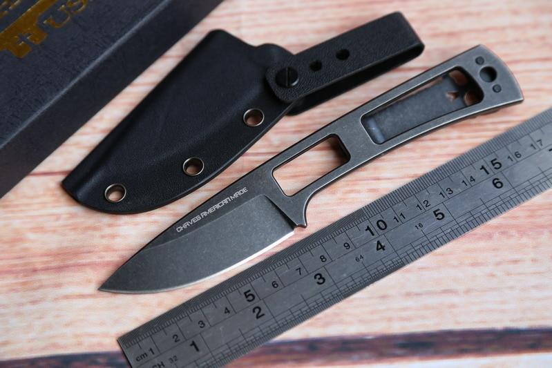 ФОТО JUFULE OEM Chaves fixed Blade D2 handle opener Titanium pocket clip hunting KYDEX Sheath camping kitchen Crowbars EDC tool knife