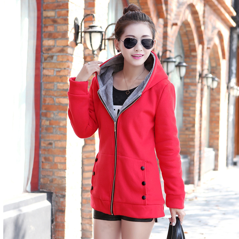 Big discount ! New fashion 2018 autumn and winter warm women's coat thickening   Parkas   winter female jackets coat