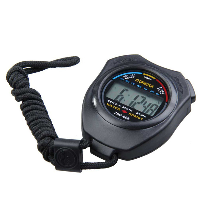 Stopwatch with Neck Band