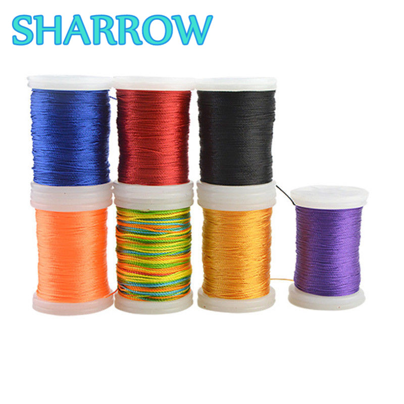2pcs 120m/Roll Archery Bowstring Serving Thread Line Cord Bow String Protector Serving Thread For Shooting Practice Accessories