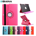 SINBANA 360 Degree Rotating PU Leather Flip Case For Samsung Galaxy Tab 3 7.0 Tablet SM-T210 Stand Tablet Case Cover