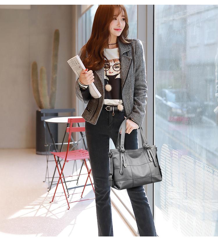 VMOHUO Messenger Bag Women's Ladies Hand Bag Women Leather Handbag Casual Tote Bag Bolsas Femininas Female Shoulder Bag (9)