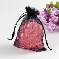 100pcs/lot 7x9 cm Organza Bags Wedding Pouches Jewelry Packaging Bags Nice Gift Bag