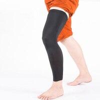 1 Pair Sports Leg Sleeve Knee Brace Strap Cycling Football Basketball Knee Protector Pads Football Calf
