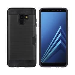 Матовый задняя крышка 2 в 1 чехол для samsung Galaxy A8 2018 Coque Броня прочный силиконовый резиновая Coque Fundas для samsung A530F