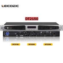 Leicozic DT2150 2×150 Вт усилителей dsp 2 канальный цифровой усилитель 250 Вт X2 @ 4ohm 1u усилители мощности усилитель класса D аудио для сцены