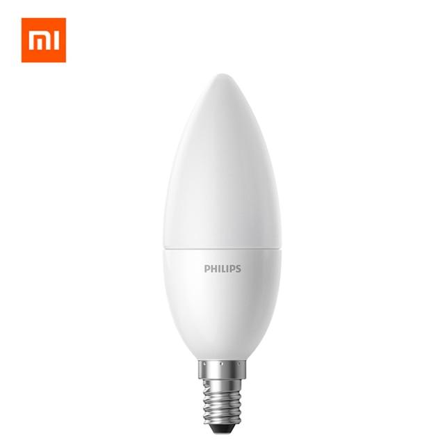 Original Xiaomi Smart LED Lamp djustment E14 Bulb 3.5W 0.1A220-240V 50/60Hz Wifi Remote Control by Mi home App smart Home kit