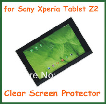 "500pcs Ultra Clear Screen Protector Protective Film for 10.1"" Tablet PC Sony Xperia Tablet Z2 No Retail Package Size 258.5x165mm"