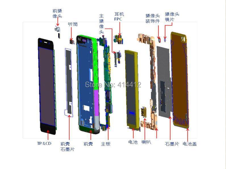 Huawei P7 Phone Repair Schematic And Pcb Diagram System