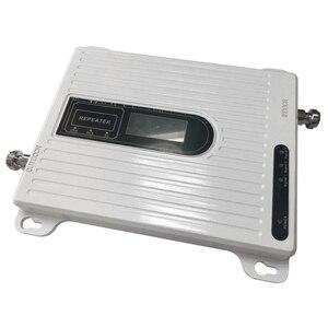Image 4 - Birimi 900 1800 2100 mhz tri band 2G 3G 4G mobil sinyal güçlendirici GSM DCS LTE WCDMA UMTS cep telefonu tekrarlayıcı amplifikatör