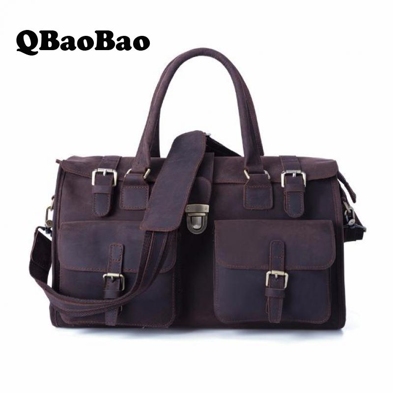 men luggage bag real leather 2017 men travel bag large capacity travel men bag инвентарь для турпоходов blog tour pe007