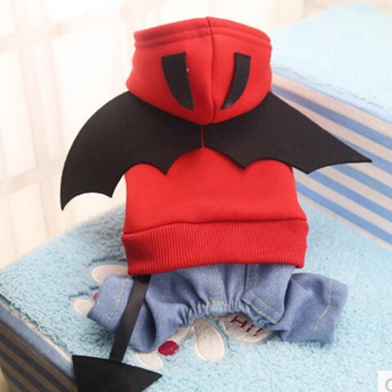 High Quality Spring Dog Cat Clothes Pet Costume Puppy Coats Batman Pet Clothing Small Dogs Clothes For Chihuahua Yorkie Funny