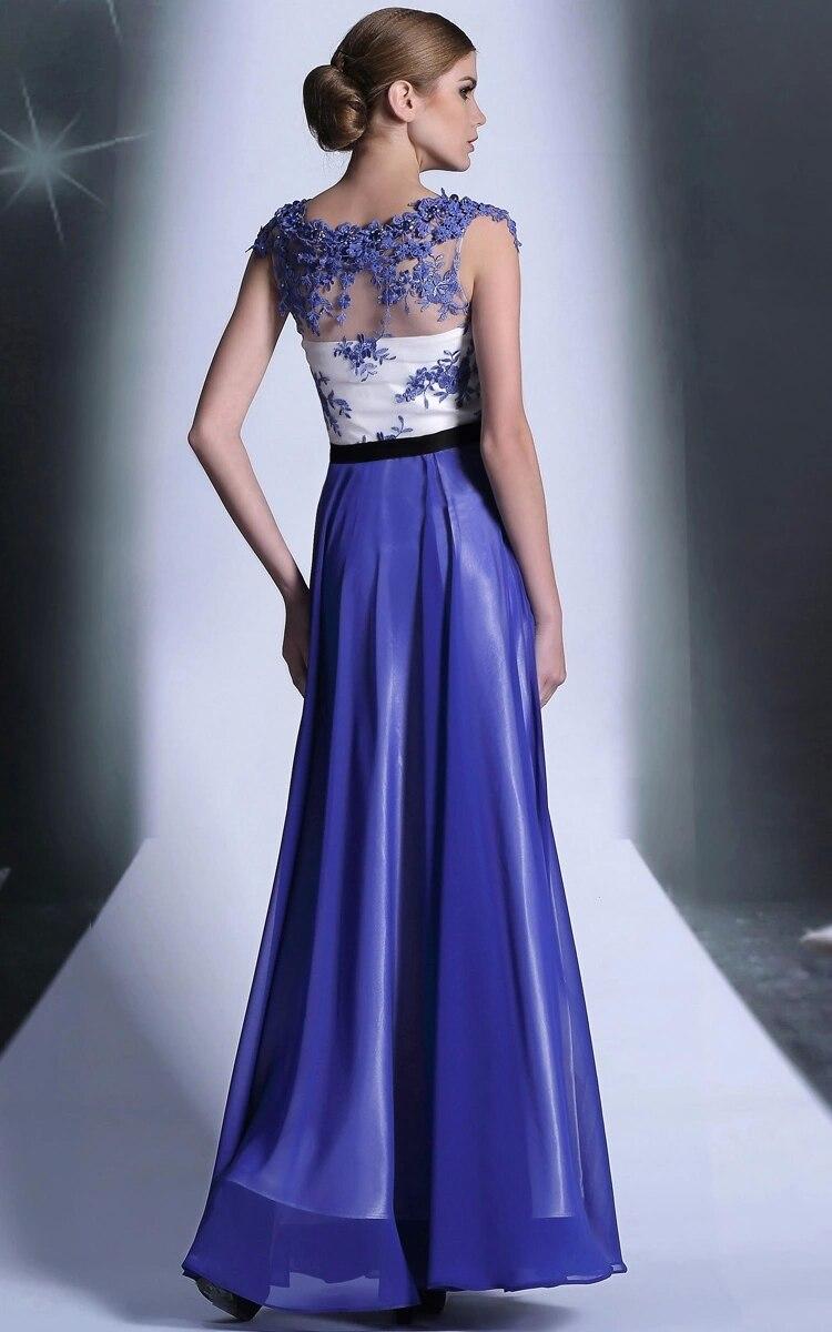 Formal Celebrity Dresses Vestido De fiesta Celebridade azul real De ...