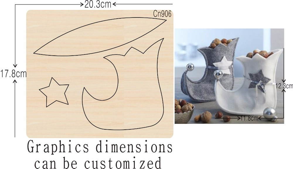 Shoes new wooden mould cutting dies for scrapbooking Thickness 15 8mm