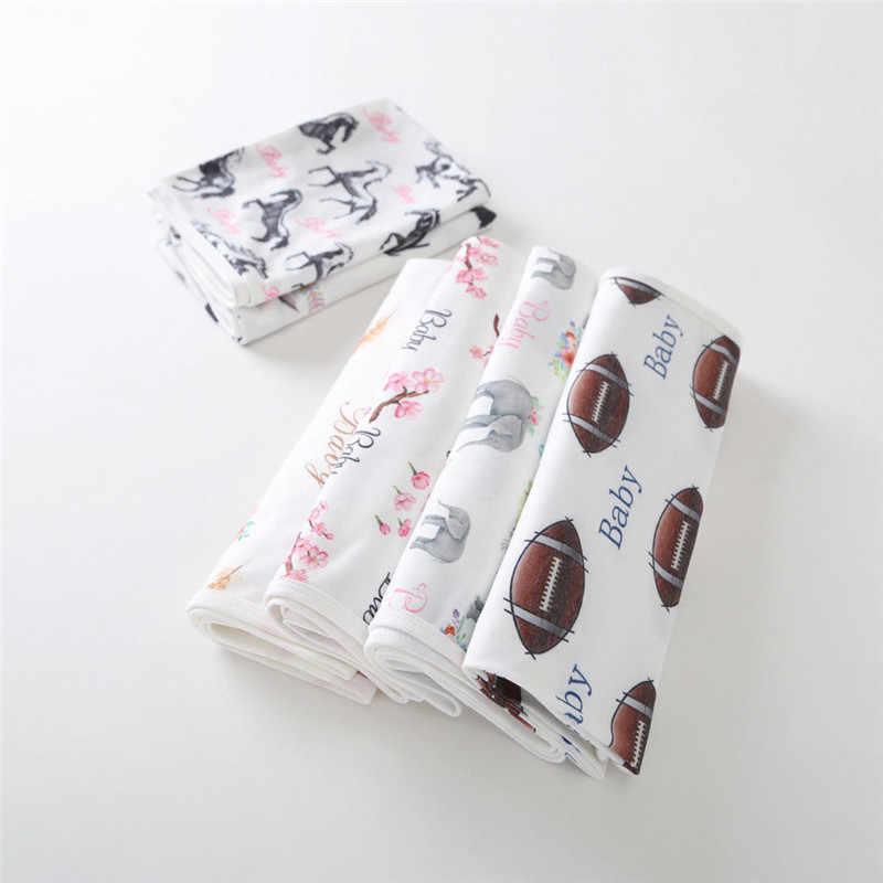 Pudcoco новорожденных Для маленьких мальчиков девушки Пеленальный Одеяло оголовье, набор хлопок Обёрточная бумага спальный мешок мультфильм Животные Цветочный принт