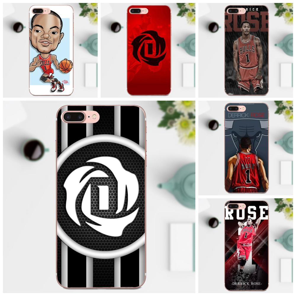 Basketballer Derrick Rose Soft TPU Mobile Case For Xiaomi Mi3