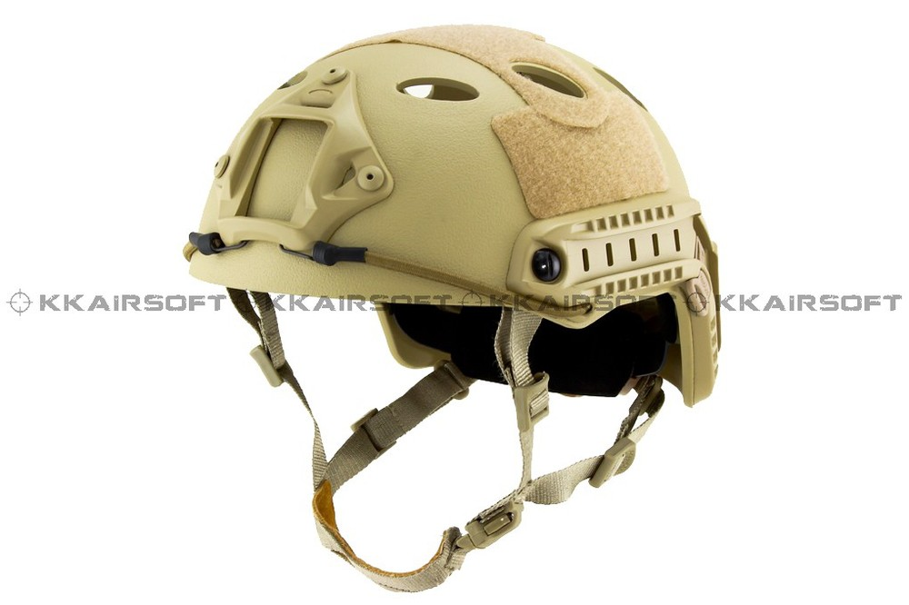 Emerson мотоциклетный шлем страйкбол быстрый стиль PJ шлем(A-TACS FG TAN MARPAT Пустыня на серый черный - Цвет: TAN