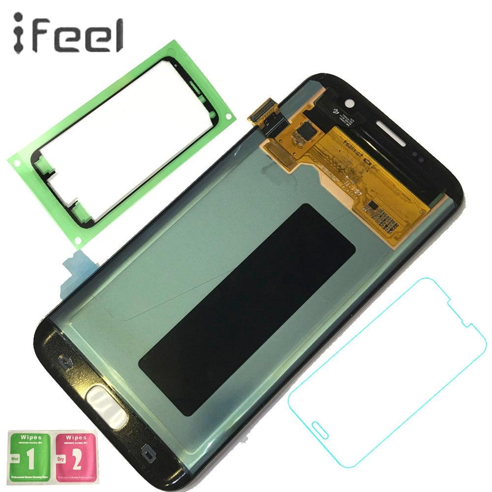 IFEEL 5.5 pouce LCD Display + Assemblée D'écran Tactile pour Samsung Galaxy S7 bord g935 g935f g935fd Affichage Remplacement