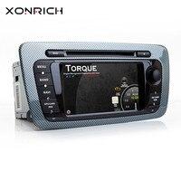 Xonrich AutoRadio 2 Din Android 8. 1 Car DVD Player For Seat Ibiza MK4 6J Sport Coupe Ecomotive Cupra 2009 2010 2011 2012 20134G
