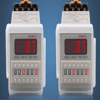 DH48S S LCD Digital timer relay 12v 220v 24v 380v Cycle control time relay free shipping