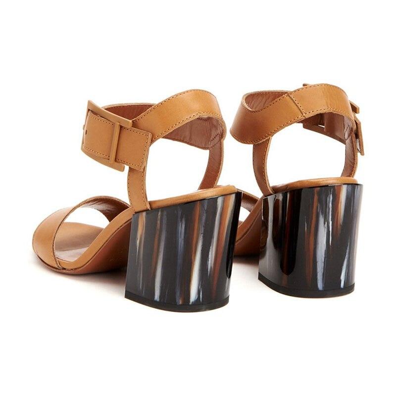 Super Sandales Wrap Sexy Solide Mature Mariage Haute Boucle Femmes Chaussures Élégant partie Carré Femme Pour Ty01 Mode Talon 2019 De Base Cheville YwEqxPU