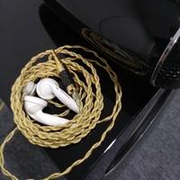 SHOZY XB High Sensitivity Low Resistance Balance Bass High Fidelity HIFI Music 3.5mm Stereo Earbuds Earphones Qian63 PK2 BK