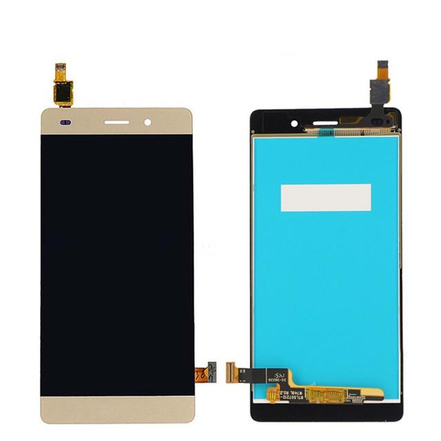 Oem piezas del teléfono celular para huawei p8 lite pantalla lcd con pantalla táctil digitalizador asamblea piezas de repuesto