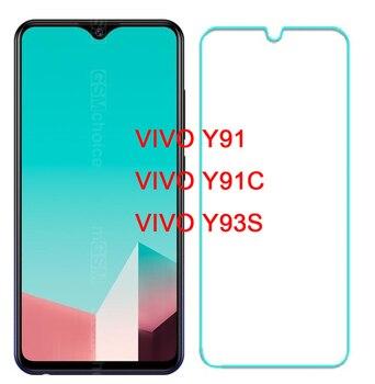 Перейти на Алиэкспресс и купить Защитный для Vivo Y91 Y91C стекло на VIVO Y91i закаленное стекло для VIVO Y93S Защита экрана для VIVO Y 93S Y 91 Y 91C