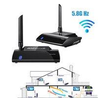 5 8GHz Wireless 300M HD Multimedia Interface 1080P HDMI AV Sender TV Transmitter Receiver Audio Video