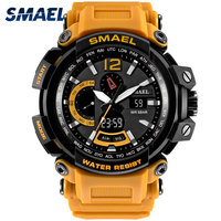 SMAEL Mens Watches Digital Military Army Stopwatch Chronograph Electronic Male Wrist Watches 1702 Relogio Masculino Automatic