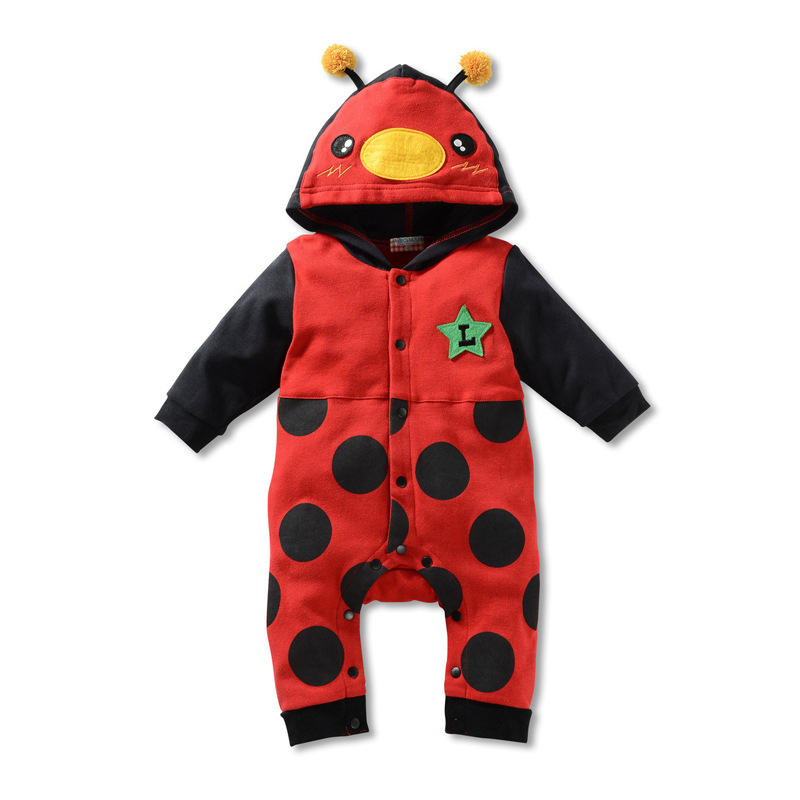 0 3M 6 12 18 24 Months Baby boy Rompers Outfits Cotton ...