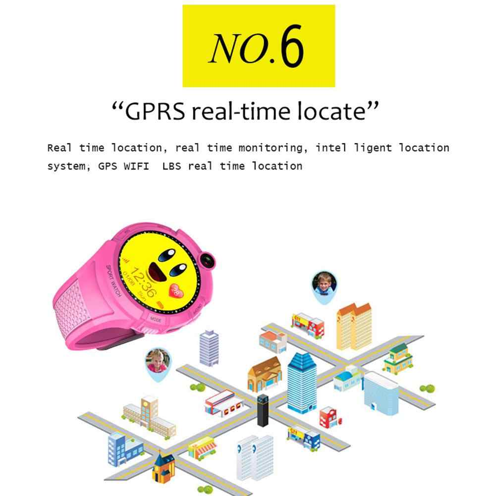 Q610S Kids Watch Children Smart Watch LBS GPS Wifi Locator Tracker Anti-Lost SOS Call Camera Children Smartwatch